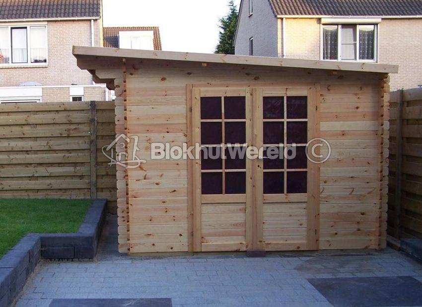 Blokhut Zeist 2x3m 28mm Tuinhuiscom